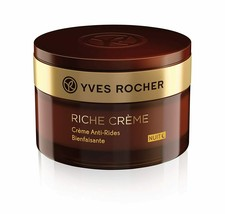 Yves Rocher Riche Crème Wrinkle Smoothing Night Cream, 50 ml  - $45.99