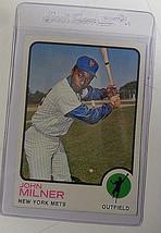 1973 Topps #4 John Milner New York Mets Baseball Card NM - $2.88