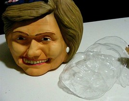 HILLARY CLINTON Mask, Halloween or rally, by Politically Incorrect,+ jel... - £10.67 GBP