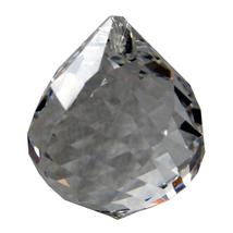Swarovski Crystal Swirl Cut Ball Prism image 1