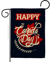 Happy Anniversary Canada - Impressions Decorative Garden Flag G192251-BO - $19.97