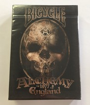 """Alchemy 1977 England"" Bicycle Playing Cards - Poker Size 2012 - $9.87"