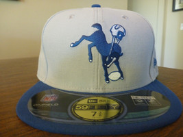 INDIANAPOLIS COLTS NEW ERA 59FIFTY 2012 ON FIELD CLASSICS GRAY FITTED HA... - $23.99