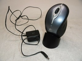 Logitech MX Laser M-RBA97 Wireless Bluetooth Mouse and Charger Bad Battery AS-IS - $26.73