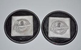 Pair of 2007 Cobb County Georgia GA 175th Anniversary Leather Pewter Coa... - $14.25