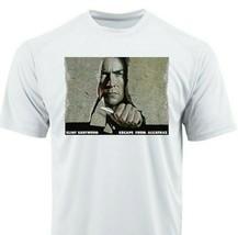 Escape Alcatraz Dri Fit Tshirt printed active wear retro movie graphic Sun Shirt image 1