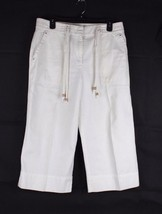 LAUREN Ralph lauren women's pants cotton white pant size 12 - $17.59