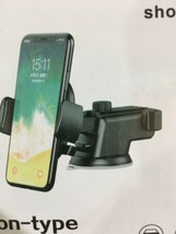 Long Neck One Touch Dashboard Windshield Car Mount Cell Phone Holder Uni... - £7.67 GBP