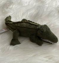 Gund Aligator Jezzy Green Plush Stuffed Figure Toy 32014 Beanie Baby - $14.84