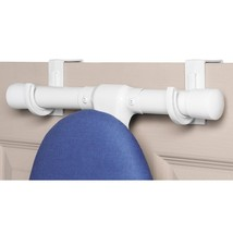 Over The Door Ironing Board Hooks Whitmor 2 Count White *Free Shipping* - $10.98