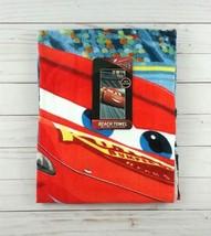 Beach Towel Terrycloth Disney Pixar Cars Bath Lightning McQueen 28 x 58 - $14.99