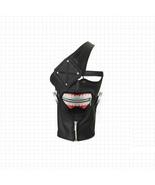 Tokyo Ghoul Kaneki Ken Zipper Leather Mask Cosplay Accessories - $29.39