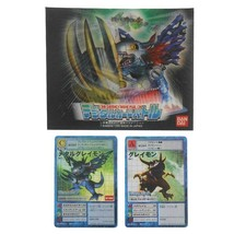 Bandai Digimon World Special MetalGreymon Holo Card Digital Monster Greymon Rare - $78.21