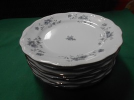 "Johann Haviland .."" Blue Garland"" -Set Of 8 Bread Plates..Made In Thailand - $27.43"