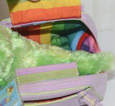 Webkinz HM434 Plush Green Caterpillar Purple Pet Carrier 9 Inches Age 3 plus image 3