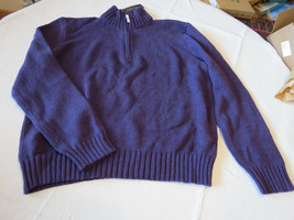 Polo Ralph Lauren Jersey Pulóver Camisa Pequeño 0186181 classics05 Hombre Lila - $78.19