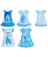 Disney Store Cinderella Nightshirt Nightgown Princess Blue New - $39.95