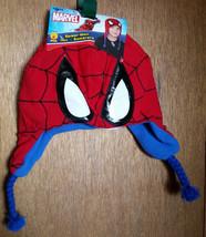 Spiderman Boy Clothes Spider Man Super Hero Trapper Cap Hat Spidy Head Accessory - $9.49