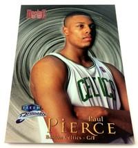 Paul Pierce Rookie Card 1998-99 Fleer Brilliants #110 NBA Boston Celtics  - $4.90