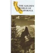 ORIGINAL Vintage 1960s Golden World of California Travel Brochure - $12.19