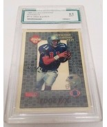 Drew Bledsoe 1993 Collectors Edge Rookies FX Graded 9 Mint - $11.76