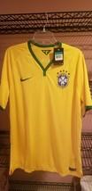 Nike Brazil CBF Soccer Jersey 2014 Home 575276 Sz XL ~  $150 NWT Brasil ... - $49.45