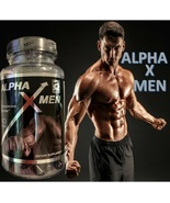 Alpha X Men Testosterone booster 60 caps pastillas testosterona masa mus... - £34.57 GBP