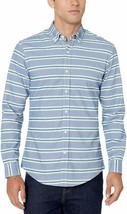 Amazon Essentials Men'S Slim-Fit Long-Sleeve Pattern Pocket Oxford Shirt - $18.80