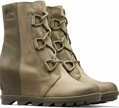 SOREL Women's 6 Joan of Arctic Wedge II Waterproof Boots Alpine TUNDRA GREEN NEW - $189.99