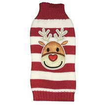 NACOCO Dog Reindeer Sweaters Dog Sweaters New Year Christmas Pet Clothes... - $10.88