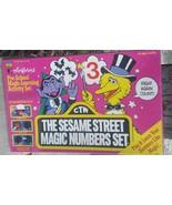 Vintage Sesame Street Colorforms Magic Numbers Set Count NIB Sealed 1988 - $49.49