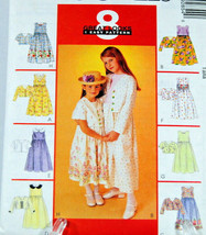 McCall's Sewing Pattern 9285 Children's / Girls' Dress & Jacket Size CJ ... - $12.50