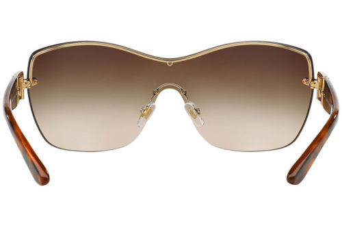 9db1ddf6bdf4 ... Authentic Versace Sunglasses VE2156B 1355 13 Gold Frames Brown Lens 38MM