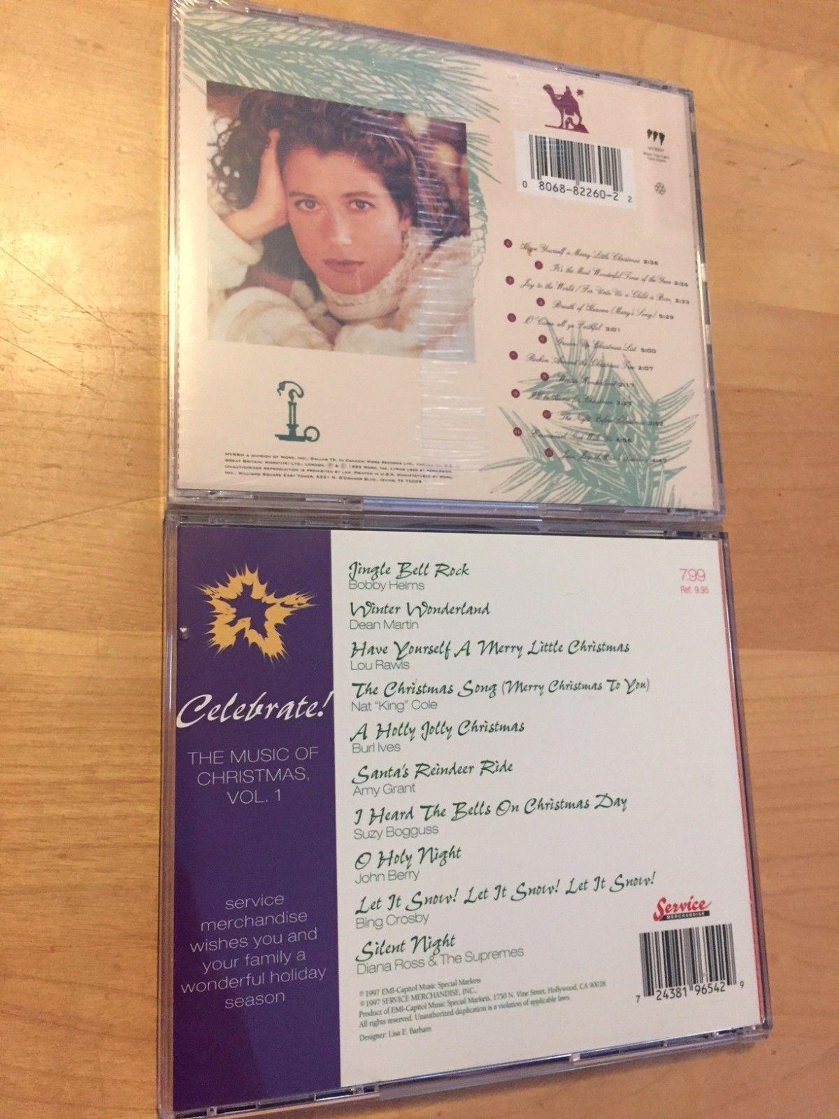 AMY GRANT Home for Christmas CD BRAND NEW & SEALED +BONUS Celebrate Music Of CD! - CDs