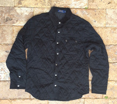 $298 Polo Ralph Lauren Pima Shirt Jacket, Polo Black, Size S - $168.29