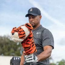 "Tiger ""Tiger Woods Frank"" Daphne Head Cover-  460CC friendly Driver  - $22.72"