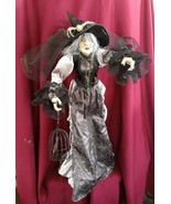 "NWT BELLA LUX Halloween WITCH 24"" Dead O' Night Collectible Tabletop Figure - €57,70 EUR"