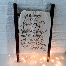 Some Days Call For Fancy: Primitives By Kathy Quirky Kitchen Dish Towel - €11,22 EUR