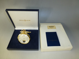 EXC SWISS REUGE MUSIC BOX MUSICAL MECHANICAL POCKET WATCH (WATCH THE VIDEO) - $2,425.50