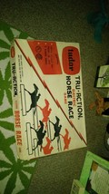 VINTAGE TUDOR TRU-ACTION ELECTRIC HORSE RACING GAME WITH bOX - $75.00