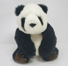 "12"" VINTAGE 1989 FIESTA BLACK & WHITE PANDA BEAR W CLAW STUFFED ANIMAL P... - $23.38"