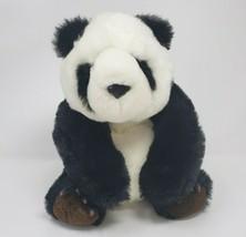 "12"" Vintage 1989 Fiesta Black & White Panda Bear W Claw Stuffed Animal Plush Toy - $23.38"