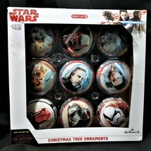 Star Wars Christmas Tree Ornaments Hallmark Target Exclusive Set of 9 - $14.88