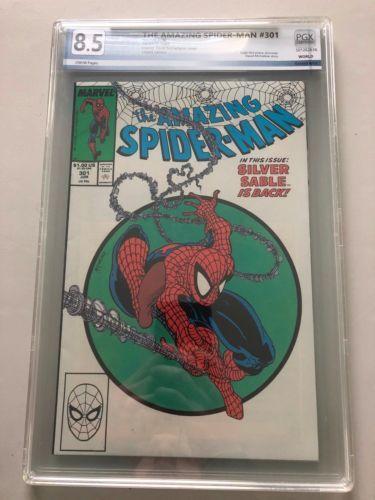 Amazing Spider-Man (1963 1st Series) #301 PGX 8.5 VF+ Very Fine+