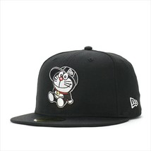 New Era Doraemon collaboration cap 59FIFTY SITTING Black - $95.99