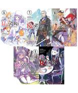 RE: Zero -Starting Life in Another World LIGHT NOVEL Series Books 6-10 - $64.99