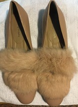 Donald Pliner Dyed Rabbit Hair Flats New Without Box Sz 8M New $228 - $98.01