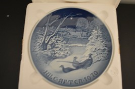 OB Bing and Grondahl Christmas Plate 1970 ANTIQUE COLLECTIBLE PLATE - $3.94