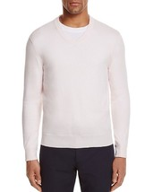 New Bloomingdales Cashmere Cotton Heavenly Pink V-NECK Sweater Size L - $14.84