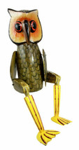 Balinese Wood Handicrafts Night Forest Great Horned Owl Puppet Toy Figur... - $36.99